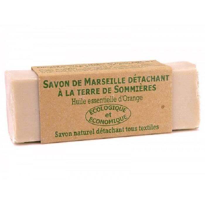 100 gram vlekkenzeep / marseille zeep met klei om wol te ontvetten