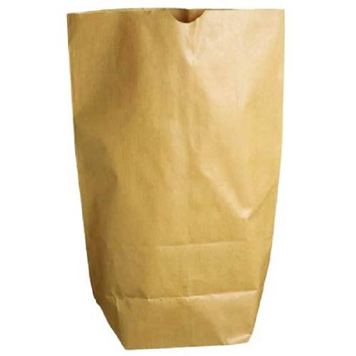 5 grote papieren zakken / grocery bag
