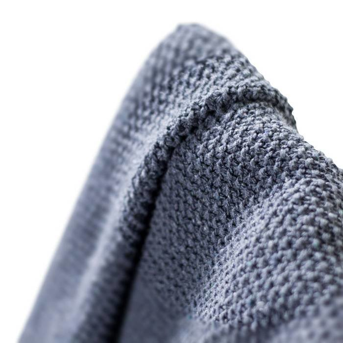 Deken / plaid van gerecyclede jeans