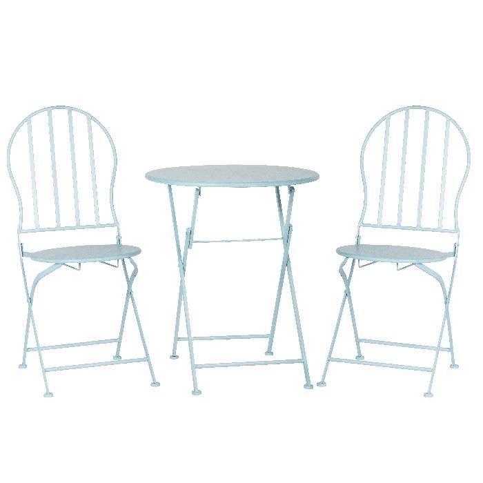 Tuinset van 1 tafel met 2 stoelen