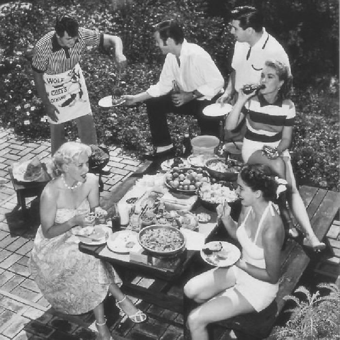• gezellig tafelen