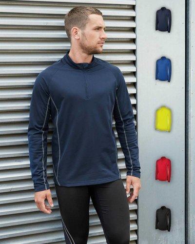 ProAct PA335 Heren Hardloop Sweater met halsrits