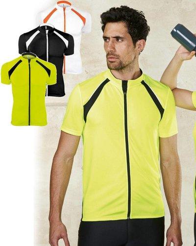 ProAct PA447 Heren fietsshirt met korte mouwen