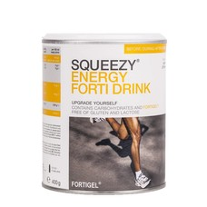 Squeezy Energy Forti Drink, Pulver, 400 g Dose, Zitrone