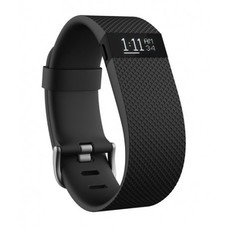 fitbit Charge HR Black Small, Large Fitnessarmband