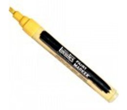 Liquitex paintmarker 0601 2-4mm naples yellow hue