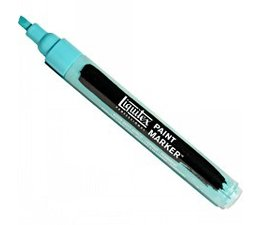 Liquitex paintmarker 0660 2-4mm bright aqua green