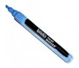 Liquitex paintmarker 0984 2-4mm fluorescent blue