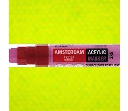 Amsterdam paintmarker 617 8-15mm rechthoekig geelgroen