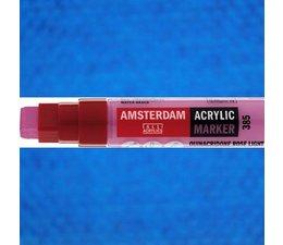 Amsterdam paintmarker 572 8-15mm rechthoekig primaircyaan
