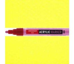 Amsterdam paintmarker 267 2-4mm rond azogeel citroen