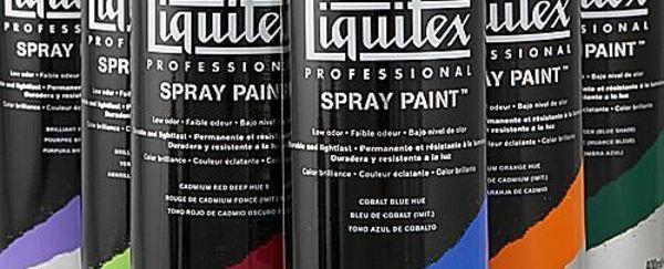 Liquitex spray paint: een prachtige innovatie ontwikkeld voor professionele kunstenaars