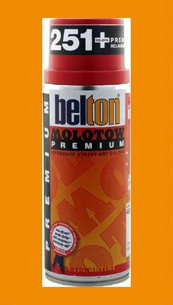 Molotow Premium Spray Paint 011 Bus 400ml Light Orange