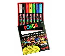 Un-Posca paintmarkerset PC1MC 8 stuks
