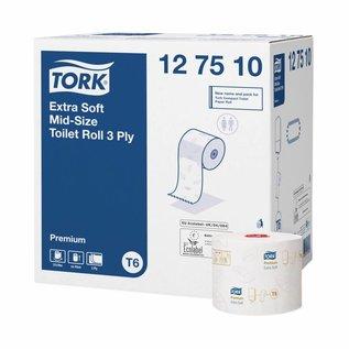Tork TorkExtraZachtMid-sizeToiletpapier3-laagsWitT6Premium