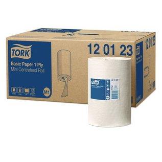 Tork TorkBasicMiniCenterfeedPoetspapier1-laagsM1