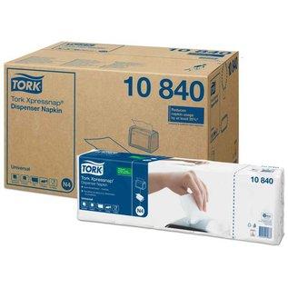 Tork TorkXpressnap®dispenserservet21,3x33cm1-laags1/4-vouwwit5x225x8