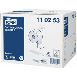 Tork Tork Mini Jumbo Toilet Roll 110253