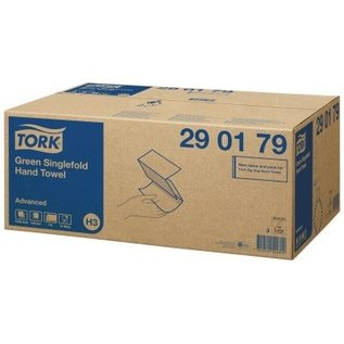 Tork Tork Z-vouw Handdoek 2-laags Groen H3 Advanced