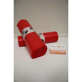 Afvalzakken rood 41702