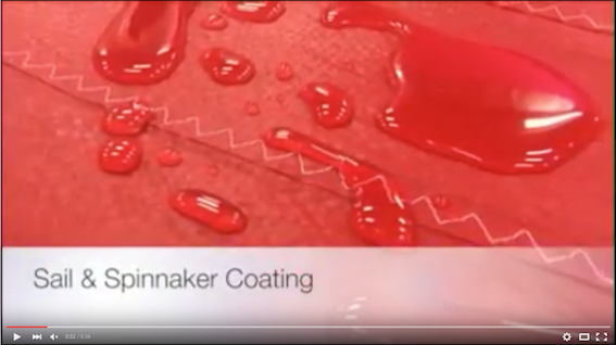 Video Spinnaker Coating Ultramar