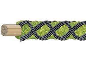 Ashaway Power gut 65 - 200 m groen/zwart