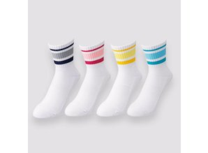 Yonex Crew sock mid SS9100 EX wit/navy