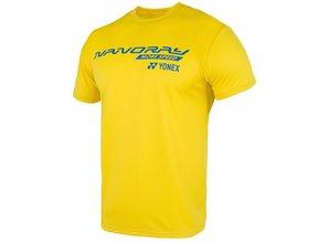 Yonex Shirt Nanoray geel 16270