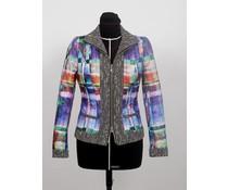 Gewatteerd jasje met tweed – lijsten