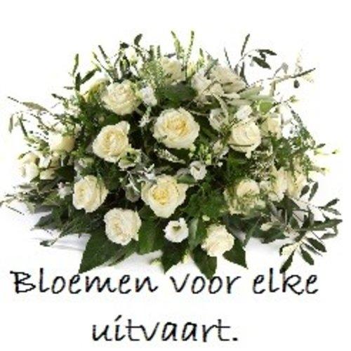 Uitvaart met bloemen