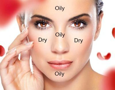Verzogende products for combination skin