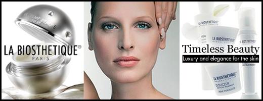 Professionele huidverzorging van La Biosthetique