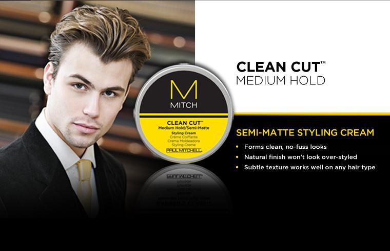 MITCH van Paul Mitchell mannen styling Clean Cut Cream