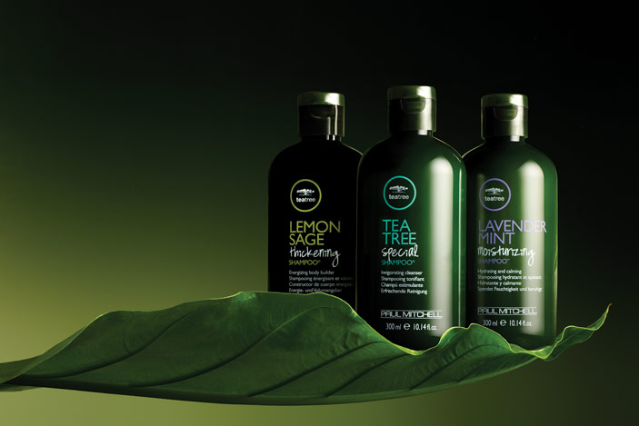 Paul Mitchell Tea Tree hair products for hair and body