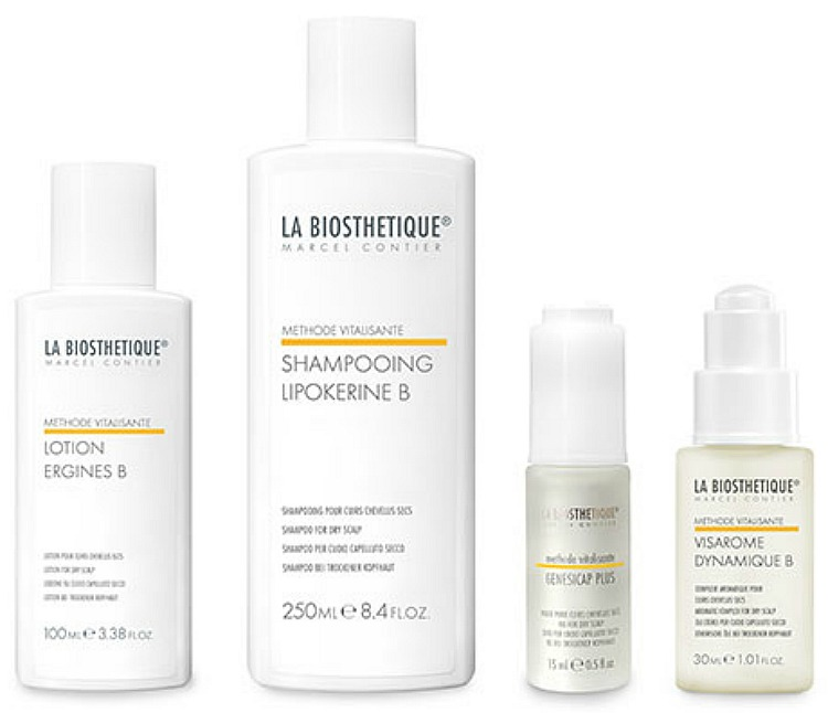 La Biosthetique Vitalisante hair products for dry hair and scalp