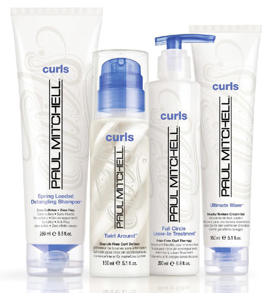 Paul Mitchell Curls. The answer to beautiful curly hair.