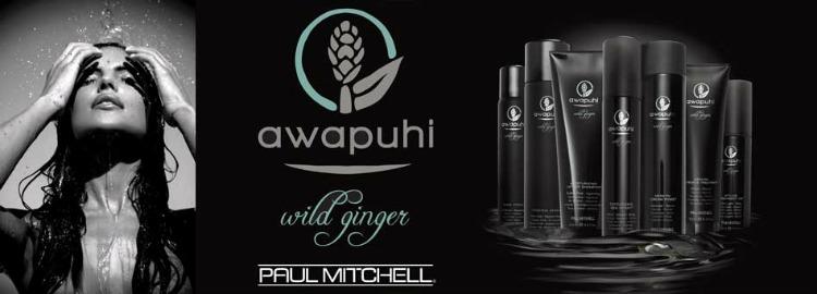 Awapuhi Wild Ginger haarproducten bij Paul Mitchel