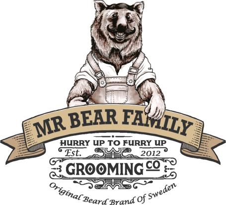 Mr. Bear Family. Baard en snor grooming producten