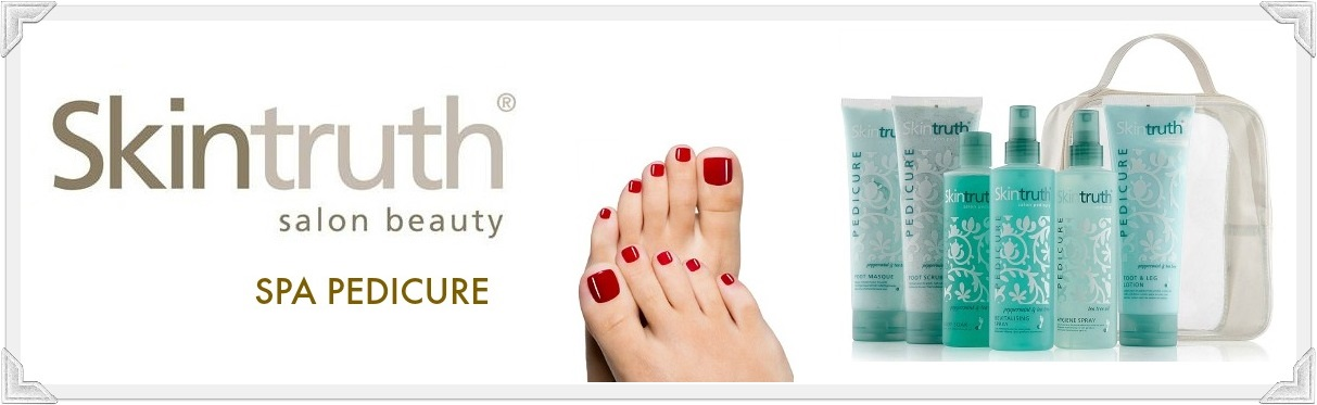 Skintruth spa pedicure producten