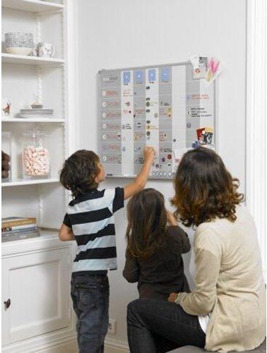 Planbord voor het hele gezin