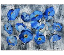 Blauwe Klaprozen