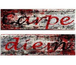 Carpe Diem - rood