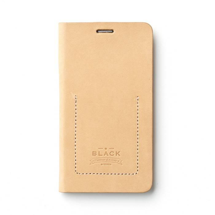 Zenus Samsung Galaxy Note 4 Black Tesoro Diary Beige