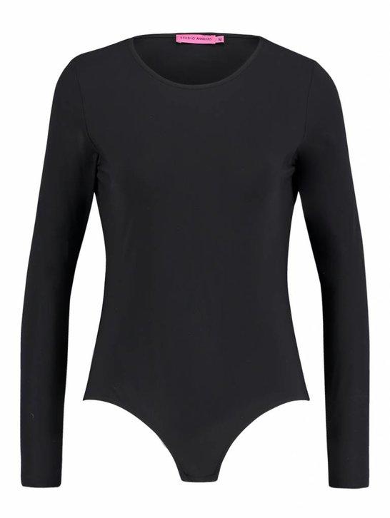 Body longsleeve zwart