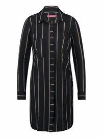 Woopy zwart khaki | Stripe
