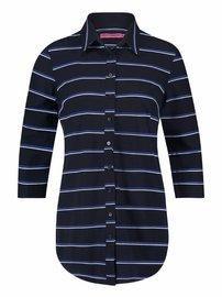Poppy tommy blouse - donkerblauw | kobalt