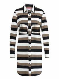 Woopy 3 stripe | zwart khaki
