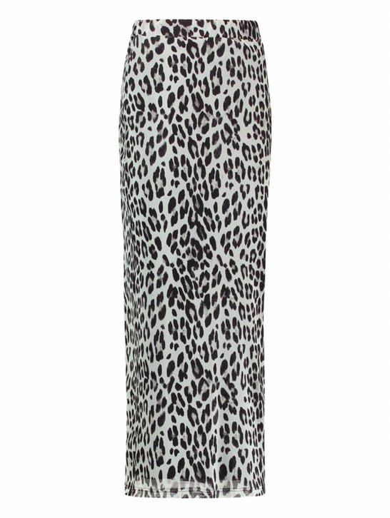 Dani skirt   leopard