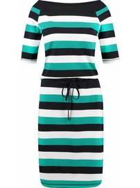 BB emerald stripe dress