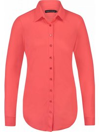 Poppy blouse coral